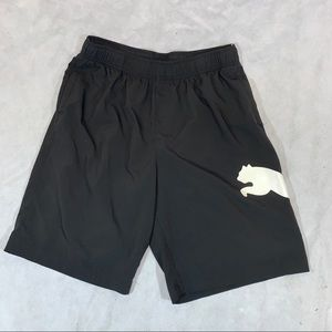 Puma Mens Athletic Shorts Size XL Black